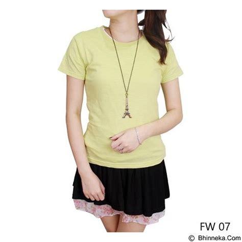 Kaos M 07 jual gudang fashion kaos wanita size m fw 07 m green