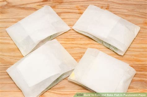 How To Fold Parchment Paper - how to fold and bake fish in parchment paper with pictures