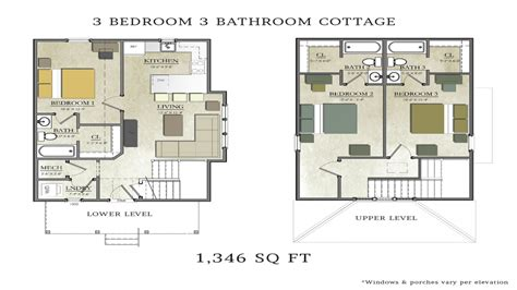 3 bedroom 2 bath house 3 bedroom 2 bath cottage plans 3 bedroom 2 bath house