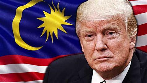 donald trump malaysia kerajaan malaysia bayar rm1 07 juta kepada firma penyokong