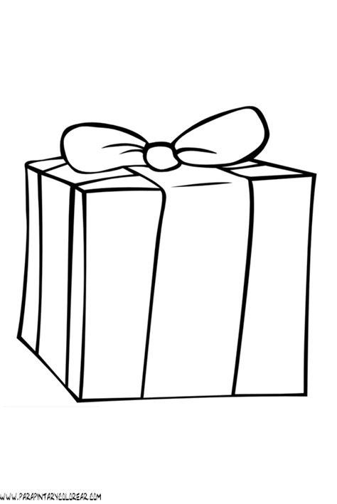 imagenes de navidad para colorear regalos dibujos navidad para colorear regalos 003