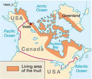 inuit canada map 17 best images about w s inuit project on
