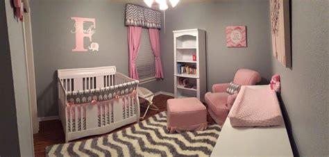 pink and gray nursery decor pink and grey elephant nursery project nursery