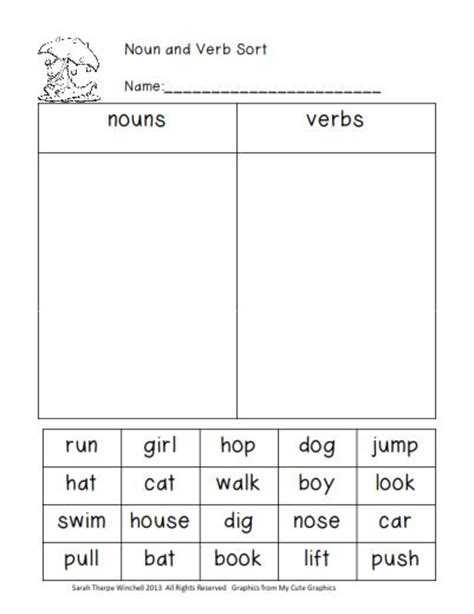 Nouns Verbs Adjectives Worksheet by Grade 1 Sle Worksheets On Nouns Verbs And Adjectives