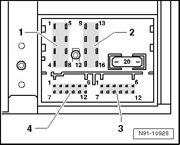 volkswagen rcd 510 pin assignments my gti