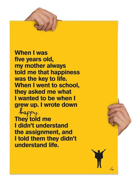 quote by john lennon when i was 5 years old my mother john lennon quotes when i was 5 quotesgram