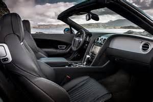 Bentley Continental Gt Interior 2016 Bentley Continental Gt V8 S Convertible Interior View 02