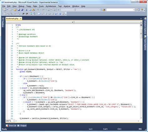 php support in visual studio 2010 stack overflow