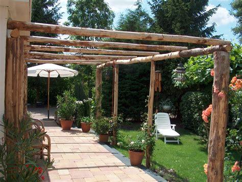 Fabriquer Une Pergola by Construire Une Pergola En Bois