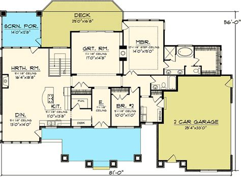 rambling ranch house plans 2 bedroom ranch floor plans 28 images about house plans