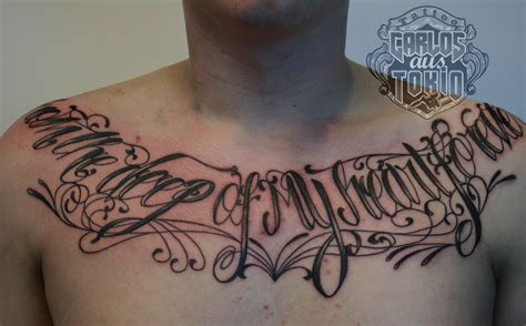 tattoo lettering in chest tattoo lettering chest best home decorating ideas