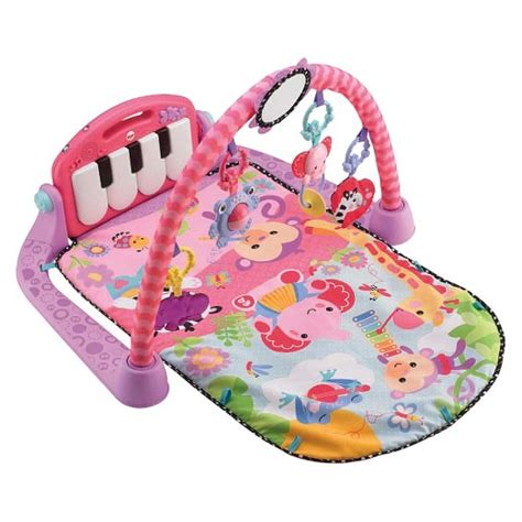 Baby Kick Mat by Fisher Price Kick N Play Piano Pink Target