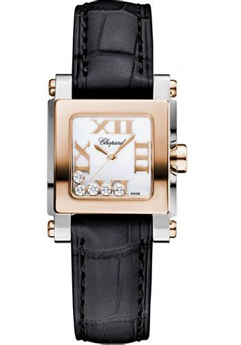 Chopard Chess Style Square For chopard happy sport square mini steel and gold watches