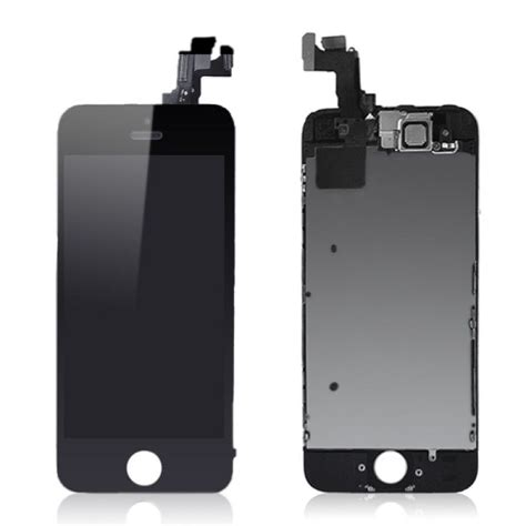 Screen Iphone 5 Retak iphone 5s black replacement digitizer lcd touch screen