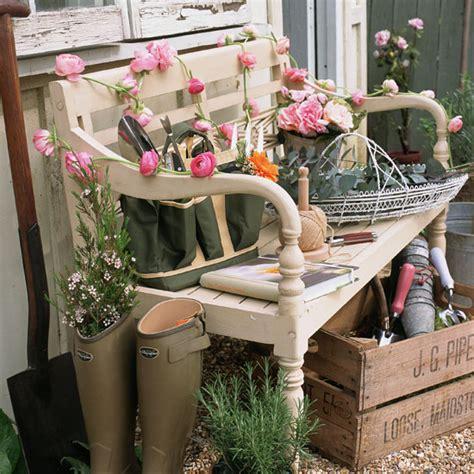 garden bench decorating ideas gardens ideas interiors design kitchens gardens design
