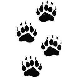 Road Wall Stickers amazon com deer track decals set of 12 automotive