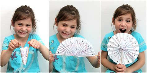 how to make paper fan with stick how to make a paper fan smashed peas carrots