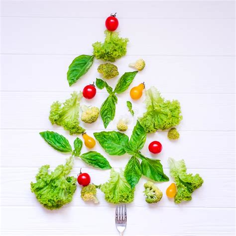 seven vegetables new year healthy new year concept collection of fresh organic