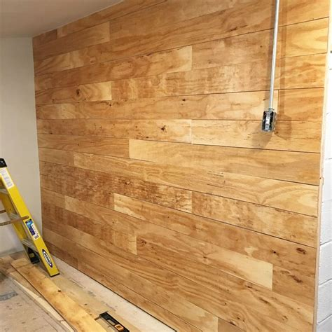 shiplap made from plywood best 25 faux shiplap ideas only on pinterest diy