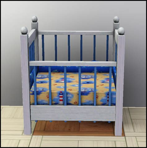 Wooden Toddler Beds Mod The Sims Quot Little Sister Quot Crib 1 Tile