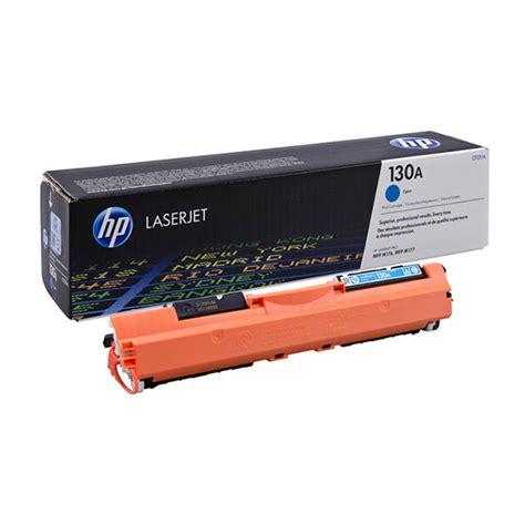 Toner Hp Laserjet 130a Cymk Original hp 130a original cyan toner cartridge cf351a laser toner