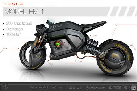 tesla concept motorcycle tesla concept bike igor sobolevsky