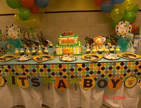 Jungle Baby Shower Decorations by King Of The Jungle Baby Shower Quot Baby Shower Quot Catch