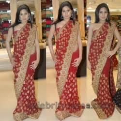Engagement Sarees Engagement Saree Red Color Saree Blouse Patterns