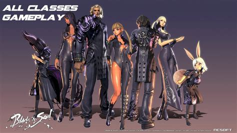 Blade And Soul blade and soul all classes gameplay