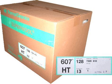thermal ceramics superwool superwool 607 ht 128kg 13mm soluble fibre blanket