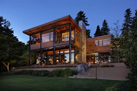 home architecture beautiful houses lake house 2