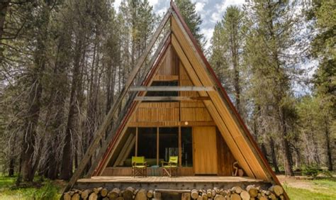 Small A Frame Cabin by The A Frame Cabin Your Small Space Tiny