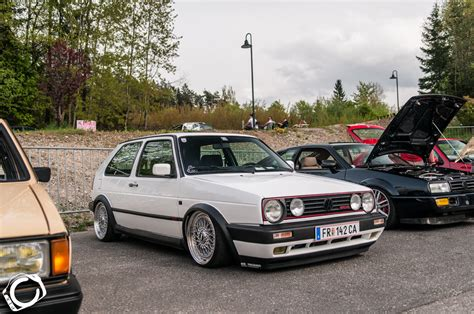 white volkswagen golf white volkswagen golf mk2 g60 vw golf tuning