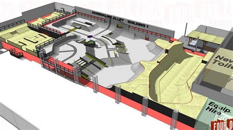 Camp Plans by Adrenaline Alley New Park Plans Scoot Club Uk