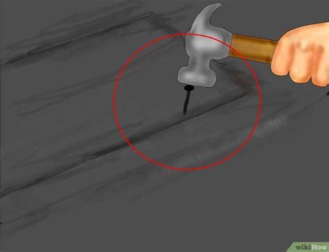 Lekkage Dak Repareren by Een Lekkage Aan Het Dak Repareren Wikihow