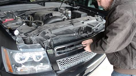 how to remove the grill from a 2006 kia sedona removing a 2011 chevy tahoe grille youtube