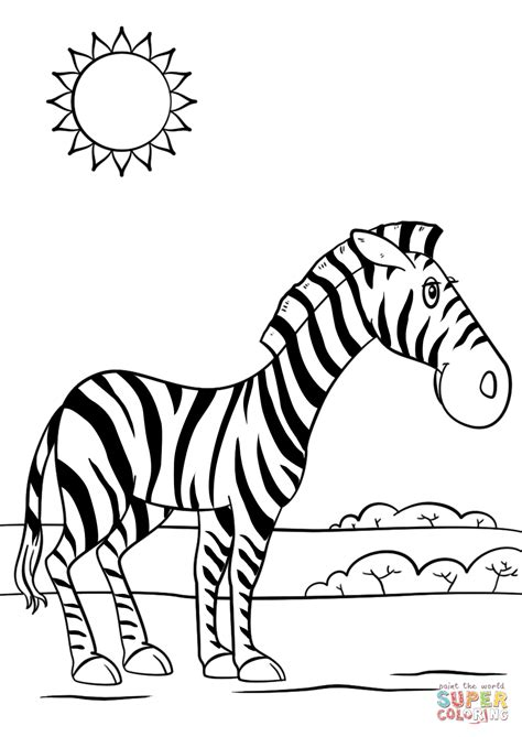 zebra coloring pages zebra coloring page free printable coloring pages