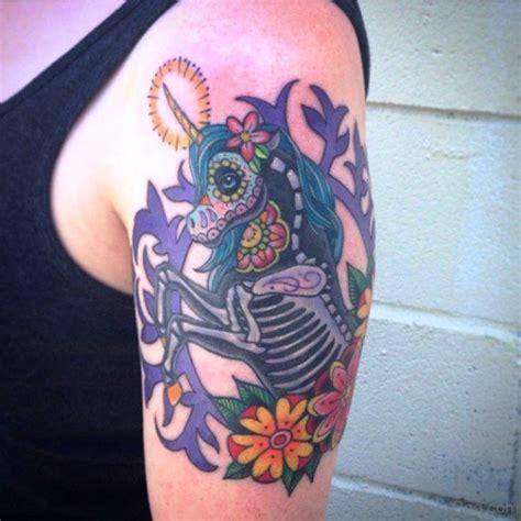 unicorn tattoo on shoulder 63 adorable unicorn tattoos