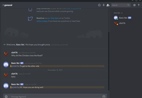 discord welcome bot guide to building a basic bot for discord episode 2