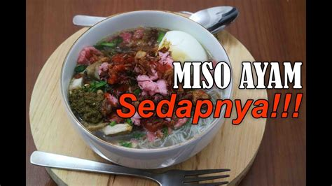 resep miso ayam masakan khas sumatera youtube