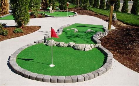 backyard mini golf course outdoor goods