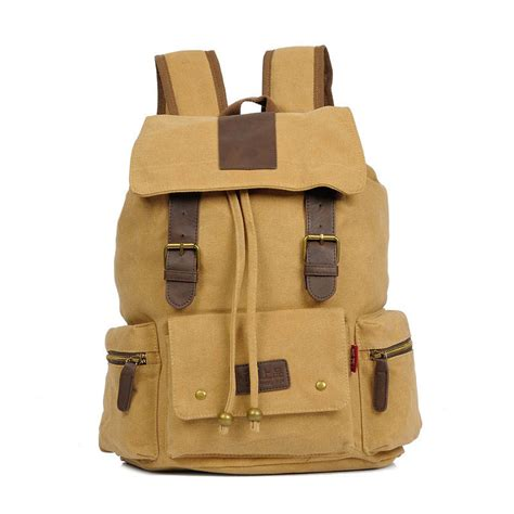 Drawstring Canvas Backpack augur drawstring canvas backpack for travel