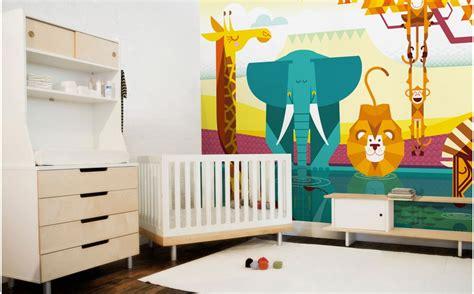 Childrens Bedroom Decor South Africa Savanna Jungle Wall Murals Room Wallpaper