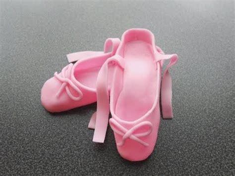 fondant ballerina slippers how to make fondant ballerina slippers tutorial jak
