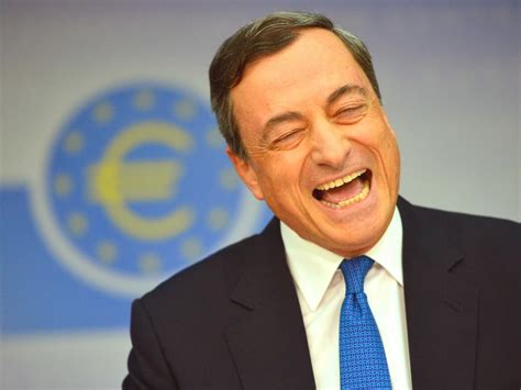 Mario Draghi | mario draghi is telling markets that they re getting qe