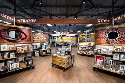 design frame outlet aaron brothers store by chute gerdeman west hollywood