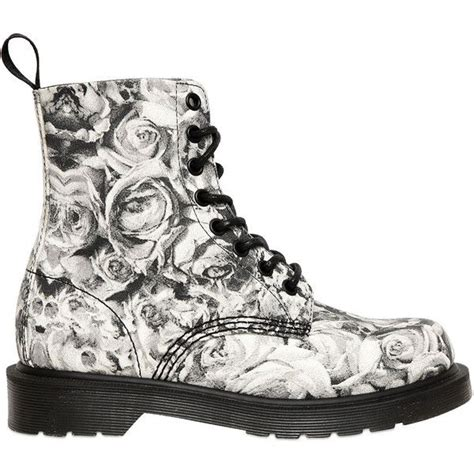 Timberland Skull Black dr martens 30mm skull roses printed canvas boots found