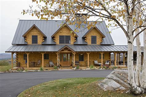 athens log home plan by coventry log homes home design