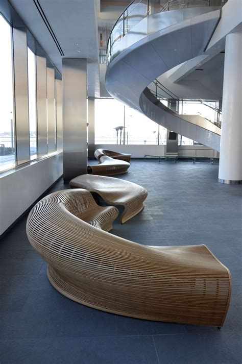 bench seating for office lobby furniture by matthias pliessnig 10