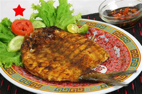 dapur lezat resto masakan indonesia bandeng bakar cabut